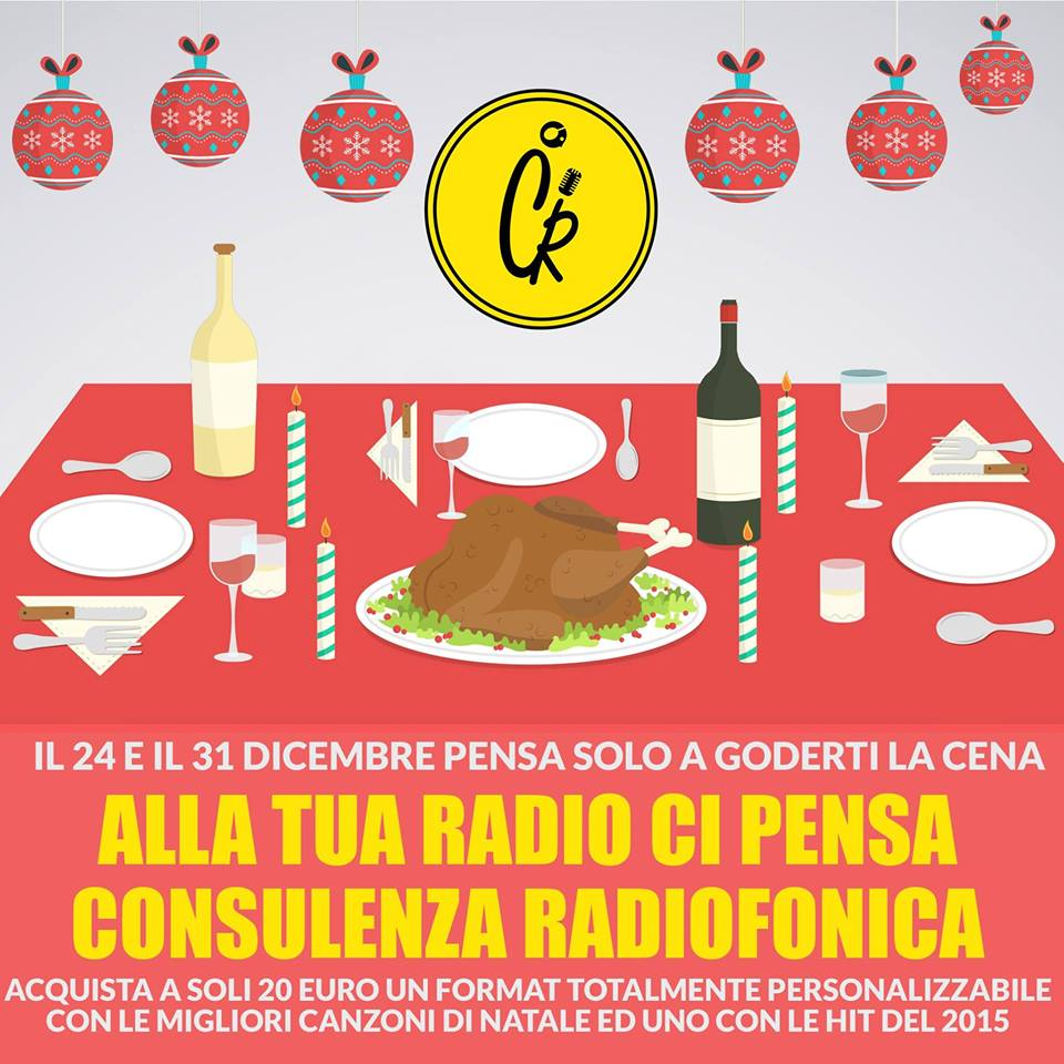 Consulenza Radiofonica Mix Natale Capodanno 2015
