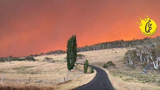 l'Australia in fiamme