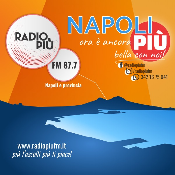 radio più arriva a Napoli su 87.7