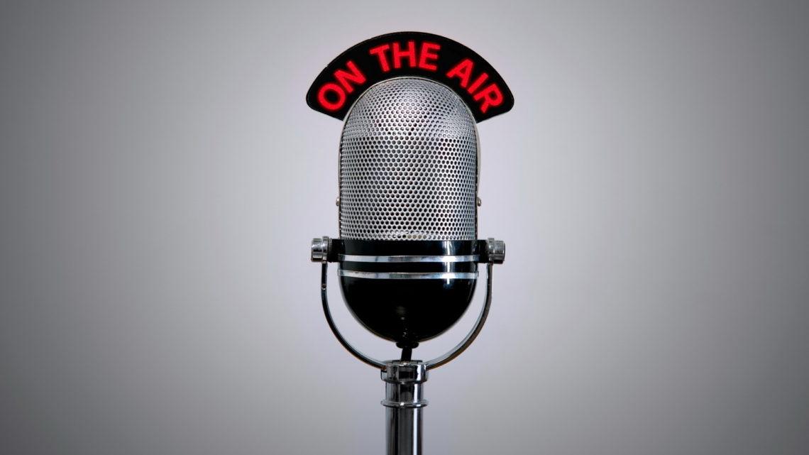 La radio on air