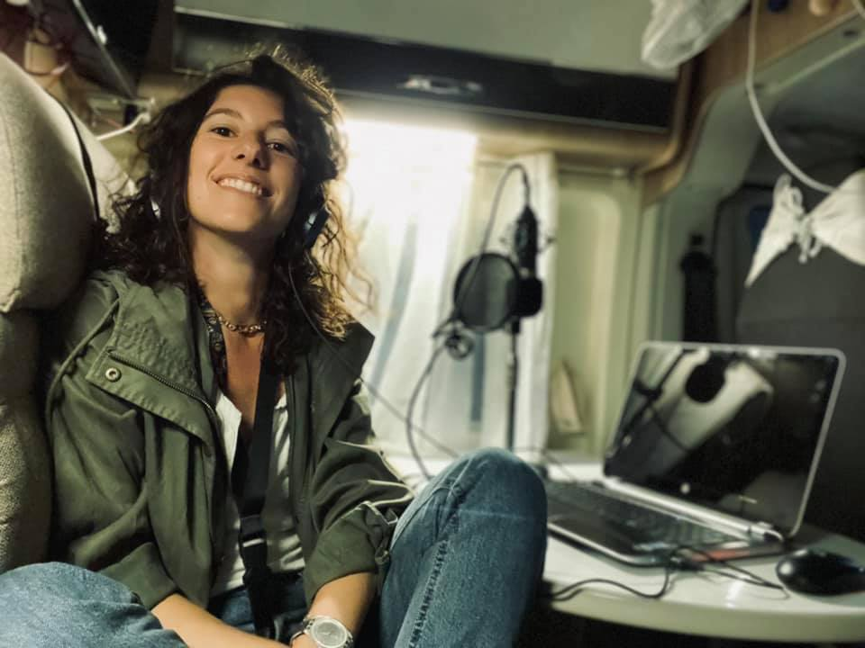 Margherita in radio camper