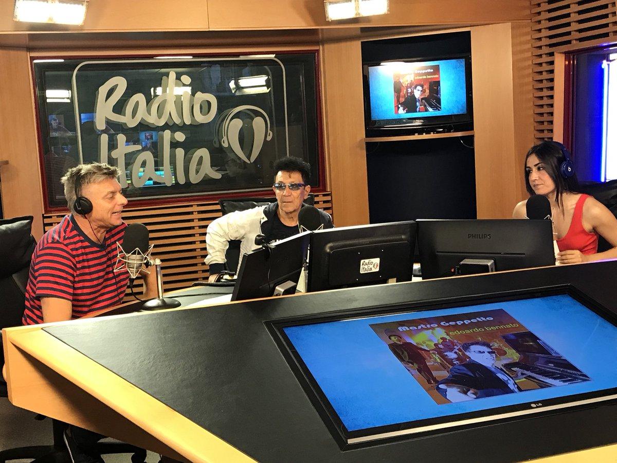 Lo studio di Radio Italia