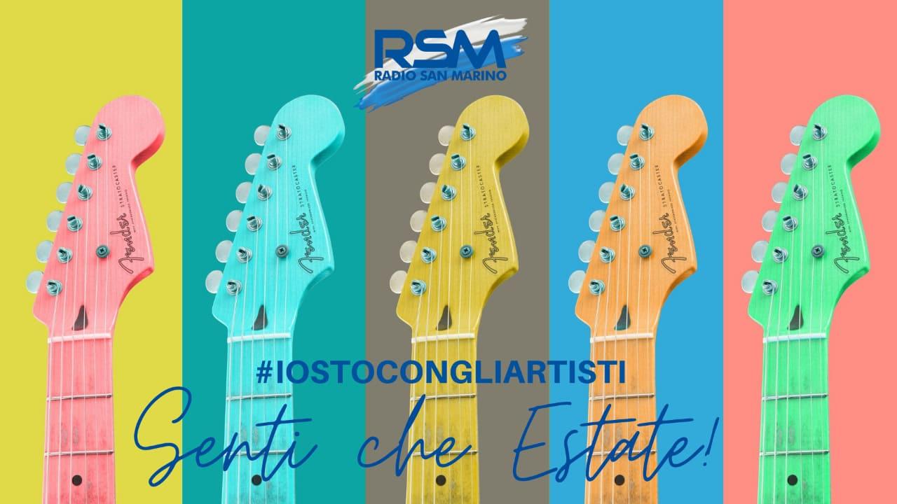 Radio San Marino #IOSTOCONGLIARTISTI