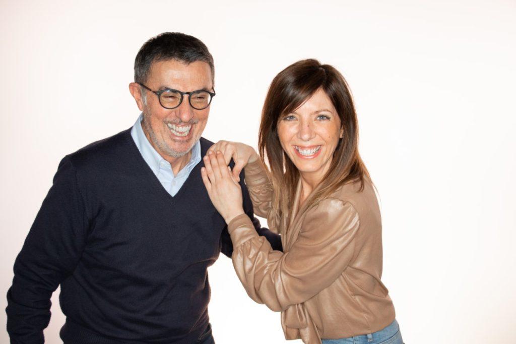 Stefano Coveri e Caria Demonte di Radio San Marino