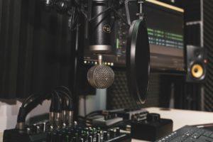 microfono per fare radio