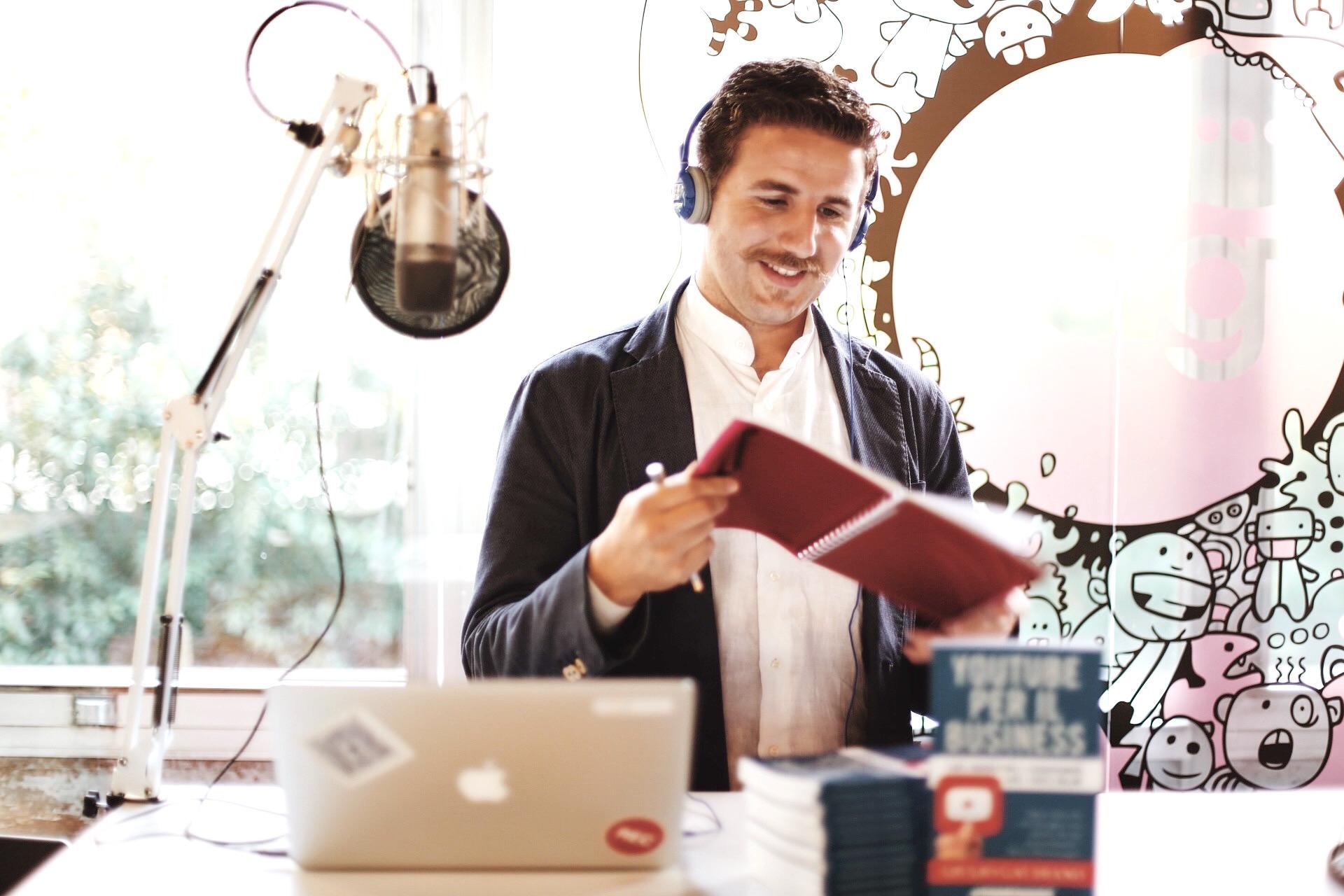 festival del podcasting intervista a giulio gaudino