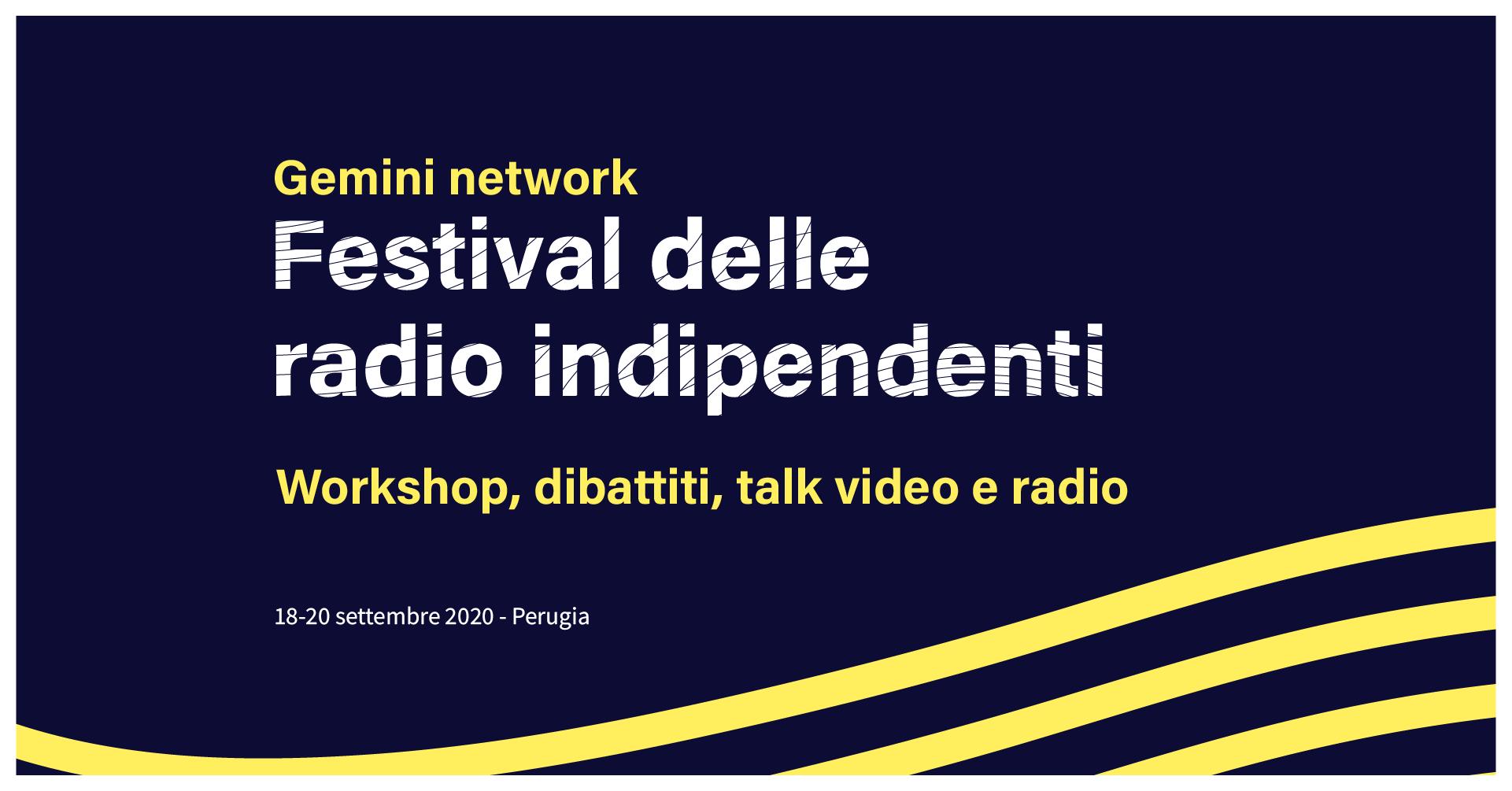 prima edizione festival delle radio indipendenti