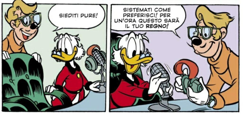 zio paperone speaker radiofonico