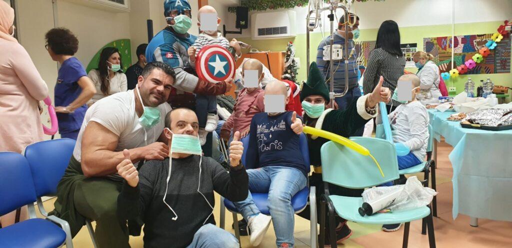 doni per bambini in ospedale di radio amore campania