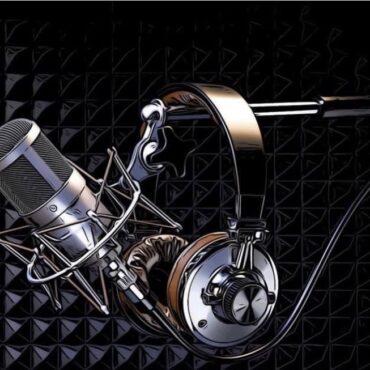 microfono in studio