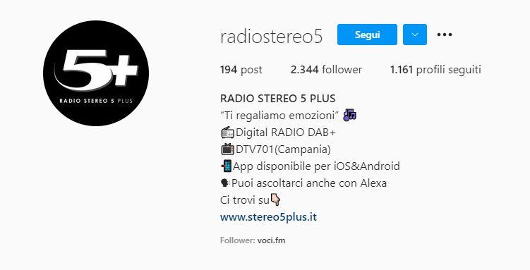 radio e social stereo 5 plus