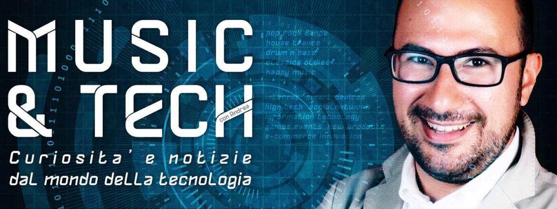 music & tech programma per le radio