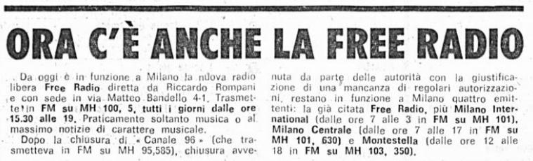 free radio la topaia