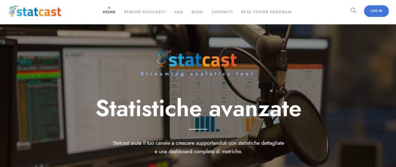 web radio italiane statcast